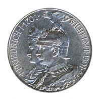 Preussen 1901 J.105 2 Mark 200 Jahre Königreich vz