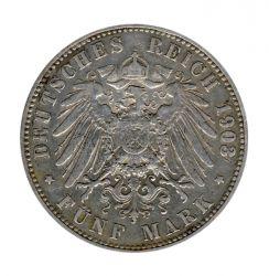 Preussen 1903 A J.104 5 Mark Wilhelm II. (1888-1918) ss