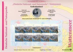 BRD 2004 Numisblatt 3/2004