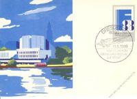 DDR 1988 Mi-Nr. P100 SSt. Phil. Weltausstellung