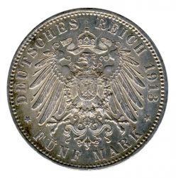 Bayern 1913 D J.46 5 Mark Otto (1886-1913) vz-st