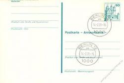 Berlin 1979 Mi-Nr. P112F/A o Burgen und Schlösser