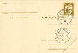 Berlin 1971 Mi-Nr. P087F/A o Dr. Gustav Heinemann