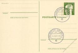 Berlin 1971 Mi-Nr. P088F/A o Dr. Gustav Heinemann