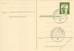 Berlin 1971 Mi-Nr. P089F/A o Dr. Gustav Heinemann