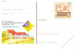 BRD 1998 Mi-Nr. PSo055 * Int. Briefmarkenbörse Sindelfingen
