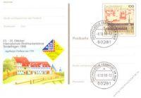 BRD 1998 Mi-Nr. PSo055 o Int. Briefmarkenbörse Sindelfingen