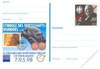 BRD 1998 Mi-Nr. PSo052 * Briefmarkenmesse Essen