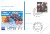 BRD 1998 Mi-Nr. PSo052 o Briefmarkenmesse Essen