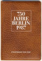 DDR 1987 Mappe
