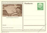 BRD 1955 Mi-Nr. P024 245 * Hannover - Verkehrsflughafen