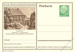 BRD 1955 Mi-Nr. P024 237 * Gelsenkirchen - Schloß Horst