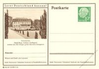 BRD 1955 Mi-Nr. P024 236 * Gelsenkirchen - Schloß Berge