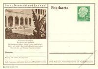 BRD 1955 Mi-Nr. P024 223 * Kissingen - Kurgarten