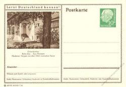 BRD 1955 Mi-Nr. P024 221 * Gelsenkirchen - Ruhr-Zoo