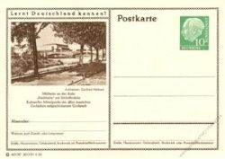 BRD 1955 Mi-Nr. P024 216 * Mülheim a.d. Ruhr - Stadthalle