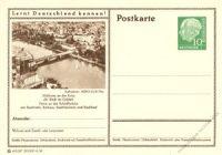 BRD 1955 Mi-Nr. P024 215 * Mülheim a.d. Ruhr - Schloßbrücke
