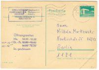 DDR 1982 Mi-Nr. P084 o Bauwerke klein 10Pf
