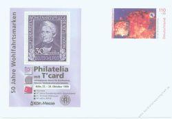 BRD 1999 Mi-Nr. USo010 * Philatelia mit T'Card Köln