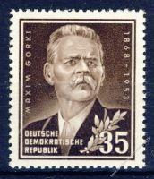 DDR 1953 Mi-Nr. 354 ** 85. Geburtstag von Maksim Gorkij