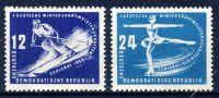 DDR 1950 Mi-Nr. 246-247 ** Wintersportmeisterschaften