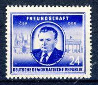 DDR 1952 Mi-Nr. 302 ** Staatsbesuch von Klement Gottwald