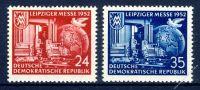 DDR 1952 Mi-Nr. 315-316 ** Leipziger Herbstmesse
