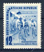 DDR 1952 Mi-Nr. 307 ** Internationale Radfernfahrt für den Frieden