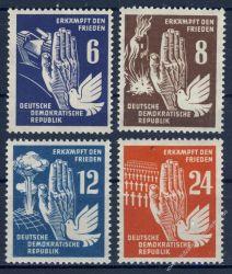 DDR 1950 Mi-Nr. 276-279 ** Frieden