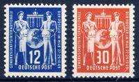 DDR 1949 Mi-Nr. 243-244 ** Postgewerkschaft