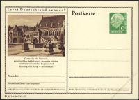 BRD 1955 Mi-Nr. P024 243 * Goslar - Kaiserpfalz