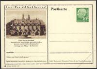 BRD 1955 Mi-Nr. P024 244 * Goslar - Rathaus