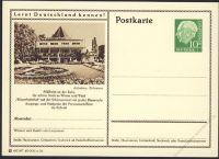 BRD 1955 Mi-Nr. P024 218 * Mülheim a.d. Ruhr - Wasserbahnhof