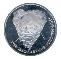 BRD 1988 J.443 10 DM Arthur Schopenhauer vz-st