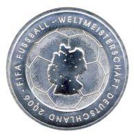 BRD 2003 J.499 10 Euro Fußball-WM-Deutschland 2006 Prägestätte: G st