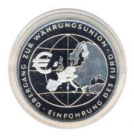 BRD 2002 J.490 10 Euro Einführung des Euro PP