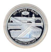 BRD 2002 J.491 10 Euro 100 Jahre U-Bahn in Deutschland PP
