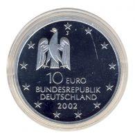 BRD 2002 J.492 10 Euro Kunstausstellung