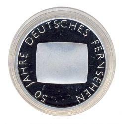 BRD 2002 J.496 10 Euro 50 Jahre Deutsches Fernsehen PP