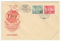 DDR 1955 FDC Mi-Nr. 450-451 ESt. Internationaler Frauentag