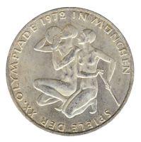 BRD 1972 J.403 10 DM Olympische Spiele - Prägestätte: J vz-st