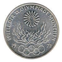 BRD 1972 J.405 10 DM Olympische Spiele - Prägestätte: F vz-st