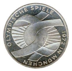 BRD 1972 J.402 10 DM Olympische Spiele - Prägestätte: J vz-st
