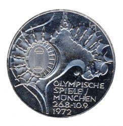 BRD 1972 J.404 10 DM Olympische Spiele - Prägestätte: J vz-st