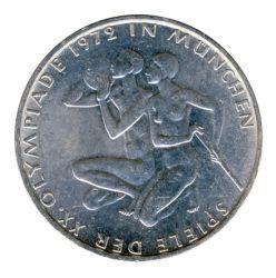 BRD 1972 J.403 10 DM Olympische Spiele - Prägestätte: D vz-st