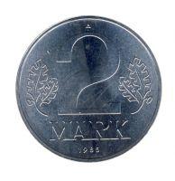 DDR 1985 J.1516 2 Mark Kursmünze st