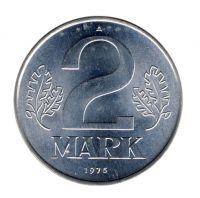 DDR 1975 J.1516 2 Mark Kursmünze st