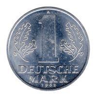 DDR 1962 J.1513 1 Mark Kursmünze st
