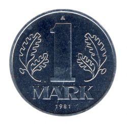 DDR 1981 J.1514 1 Mark Kursmünze st (Export)