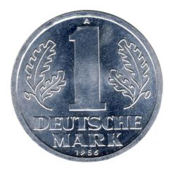 DDR 1956 J.1513 1 Mark Kursmünze st